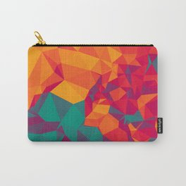 Geometric Triangles Carry-All Pouch