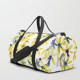 Blue Eyed Susan Duffle Bag