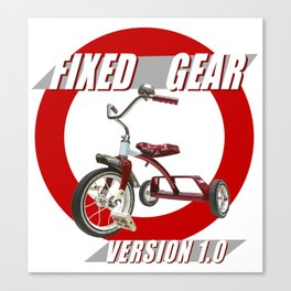 Fixed Gear Version 1.0 Canvas Print