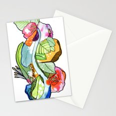 Flower Heart Stationery Cards