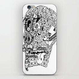 Gamblin Skull iPhone Skin