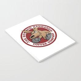 Boxing Kangaroo Coffee Company Notebook