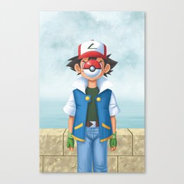 Son of Pocket Monsters Canvas Print