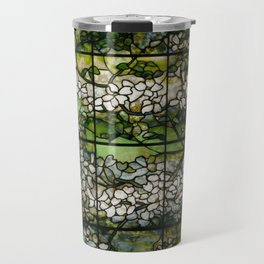 Louis Comfort Tiffany - Decorative stained glass 2. Travel Mug