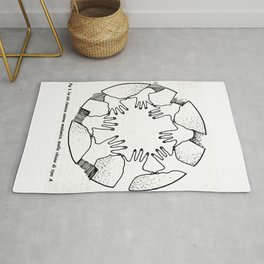 A Psychic Chain Closed Rug
