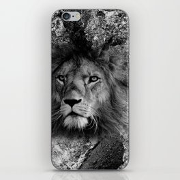 The Fearless Lion iPhone Skin