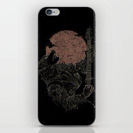 The Rock Werewolf iPhone Skin
