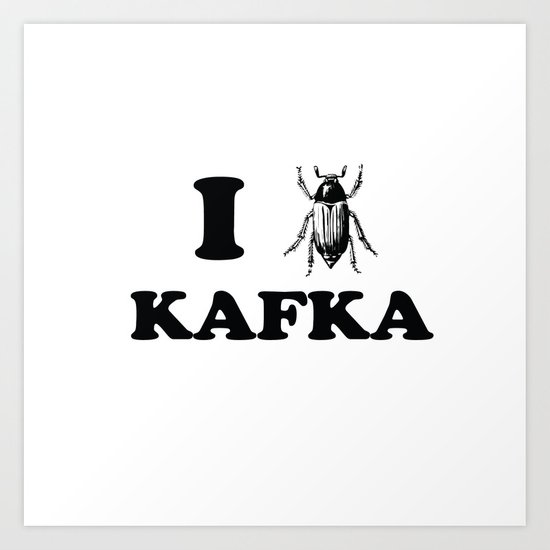 Kafka Art Print