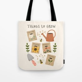 Things to Grow - Garden Seeds Tote Bag