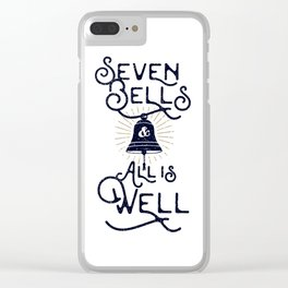 Seven Bells and All Is Well Clear iPhone Case