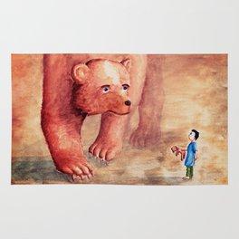 Teddy Bear's Family Rug