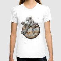 celestial T-shirts featuring Celestial Cephalopod by J.P Ormiston