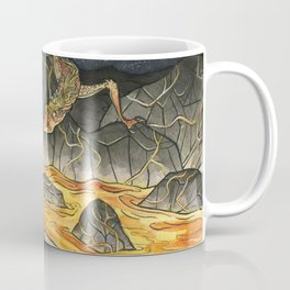 Alice & The Jabberwocky Coffee Mug