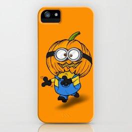 Hallowinion iPhone Case