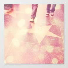 Star Gazing. Hollywood Los Angeles photograph Canvas Print