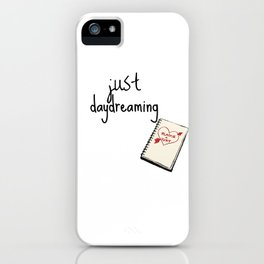 Doodling Hearts iPhone Case