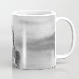 the girl on the beach Coffee Mug