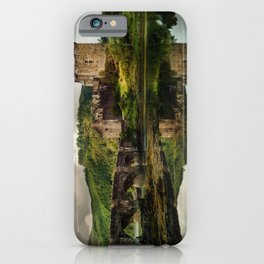 Landscape with an old castle iPhone Case