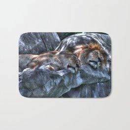 The Lion Sleeps Tonight Bath Mat