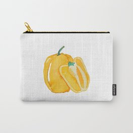yellow bell pepper watercolor Carry-All Pouch