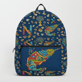Narwhal, cool art from the AlphaPod Collection Backpack