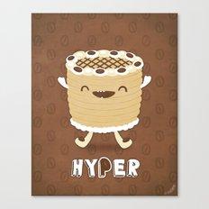Coffee Cake Canvas Print