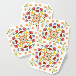 A Symphony Of Floral Delights Coaster