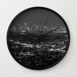 LA Lights No. 2 Wall Clock