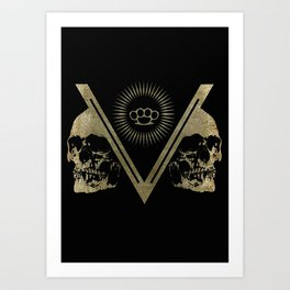 The Divide Art Print