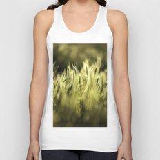 Summer Grass Portrait Unisex Tank Top
