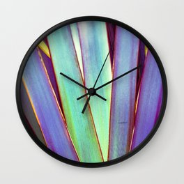 Fiesta Palm Wall Clock