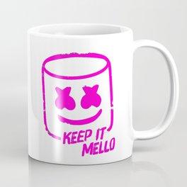 Marshmello - Keep It Mello Purple Coffee Mug