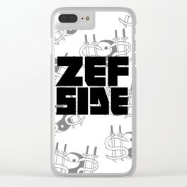 Zef Side Design Clear iPhone Case