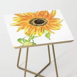 Sunflower Side Table