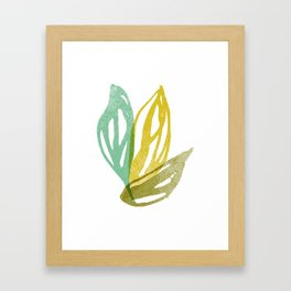 Flight (Aqua) Framed Art Print