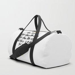 The Heart Of A Heart Duffle Bag