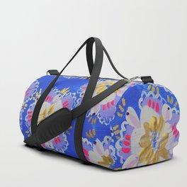 Purple Annabelle Lace Duffle Bag