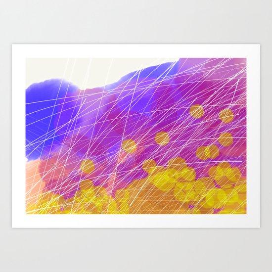 Mayflies Art Print
