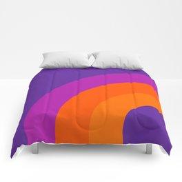 Grape Bow Comforters
