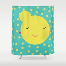 miss little sunshine Shower Curtain