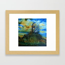 """""""We Are The Earth"""" Framed Art Print"""