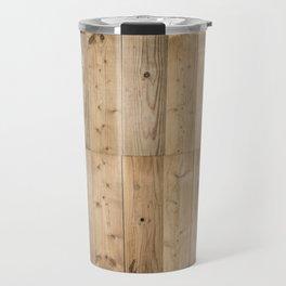 Wood Planks Light Travel Mug