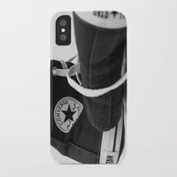 converse iPhone & iPod Cases featuring Converse by Jessy Belanger
