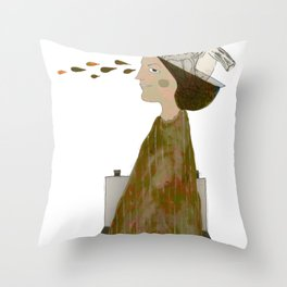 Distance (And then there was none) Throw Pillow