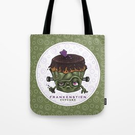 Frankenstien cupcake Tote Bag