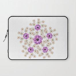 Summer flowers bouquet. Laptop Sleeve