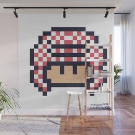 gulfi mushroom Wall Mural