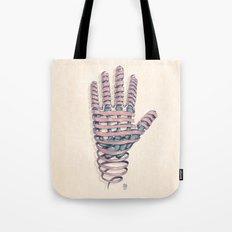 Hand Ribbon Tote Bag