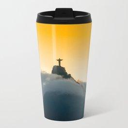 Dusk over Rio de Janeiro Travel Mug