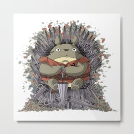 game of umbrella Metal Print